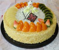 水果奶油生日蛋糕