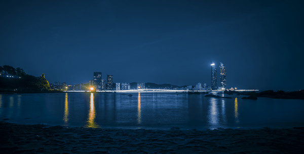 厦门岛夜景