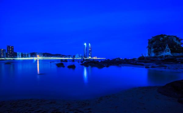 厦门演武大桥夜景