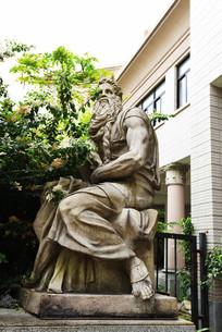 西方古典人物塑像