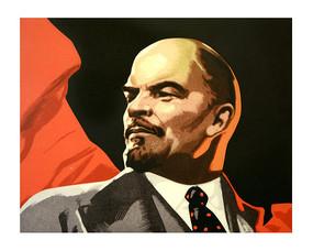 版画列宁像