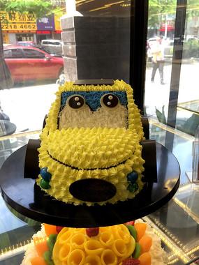 汽车卡通蛋糕