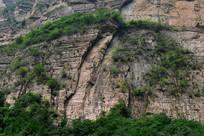 太行山山壁断崖