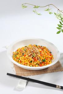 松子玉米粒