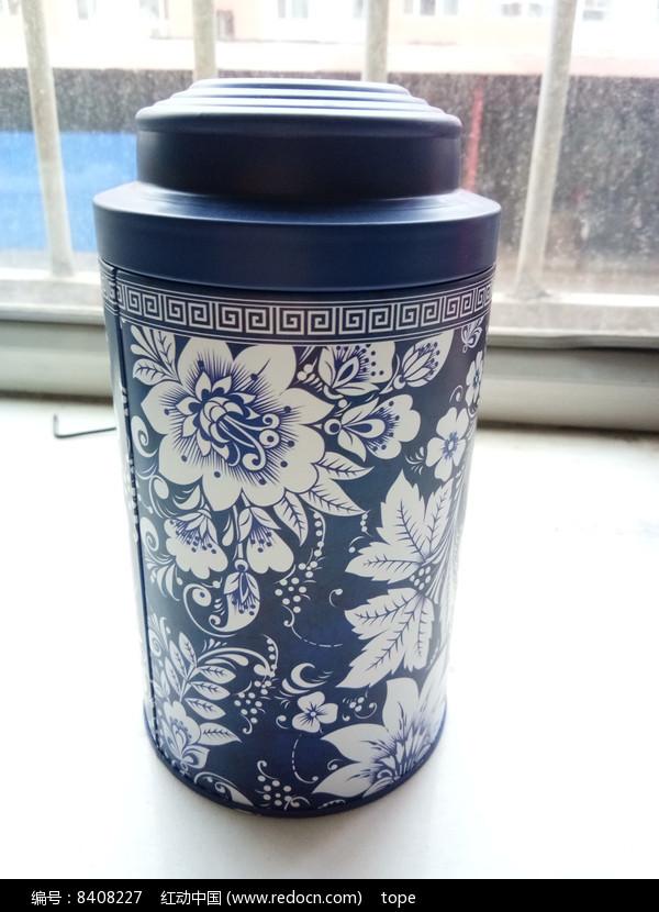 青花瓷茶叶罐图片大全图片