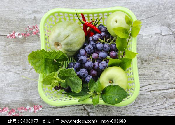 一篮子蔬果
