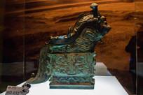 古代 石铜器像