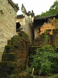 明清老房子破墙