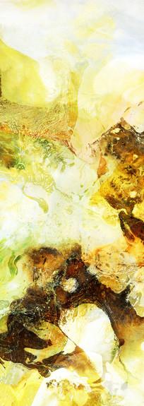 水墨流彩装饰画抽象画