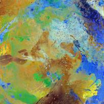艺术色彩抽象油画