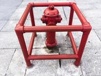 公共场合的消火栓