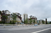 欧式建筑的贵州风景