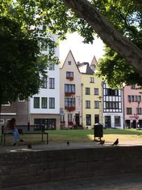 欧洲特色联排建筑