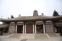 法门寺旧景区大门