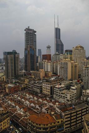上海人民广场俯瞰