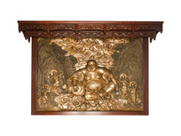 苏州报恩寺的弥勒佛雕像