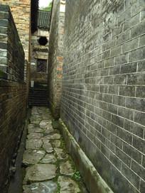 青砖石板小路巷子