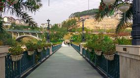 惠州哈施塔特小镇的桥