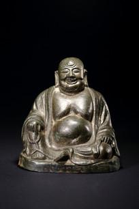 明代铜弥勒佛座像
