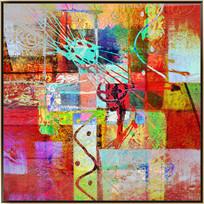 欧美装饰画 爆款抽象油画