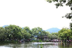 西湖景区素材