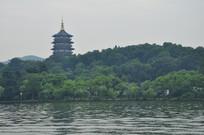 西湖美景雷峰塔