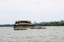 西湖游船景观