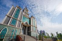新建的基督教惠州堂