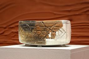 新石器时代兽面纹陶碗