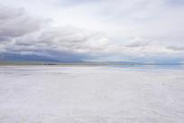 茶卡盐湖自然风光