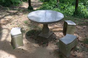花岗岩石桌凳