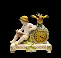 十九世纪迈森天使钟