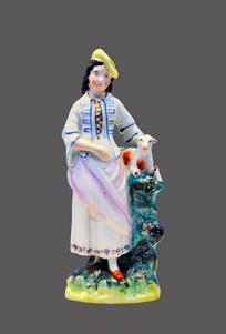 英国手绘陶瓷人物