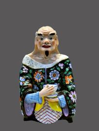 英国手绘中国人物瓷像