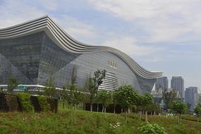 成都桂溪生态公园和环球中心