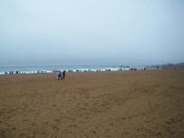 青岛金沙滩风景图