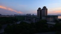 中南民族大学的美丽校园