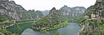 青龙山环山湖景观