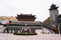 时光贵州二期景区大门