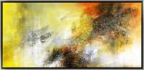 抽象油画仿真画