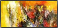 国外抽象油画
