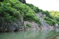河流积水风景