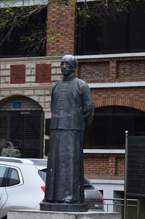 民国时代人物雕塑