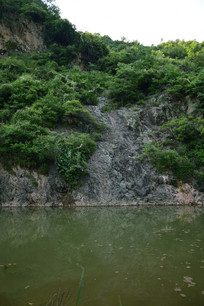 小山水风景图