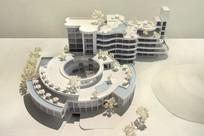 度假酒店建筑模型