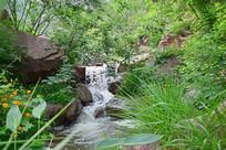 石头河道自然景观