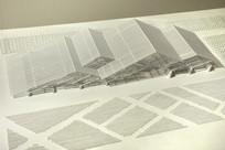 现代建筑模型