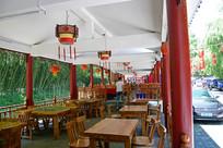 餐饮街景观图片素材
