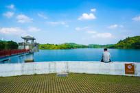 惠州红花湖水库水坝