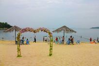 大亚湾霞涌的沙滩